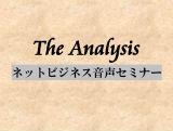 ネットビジネス音声セミナー The Analysis